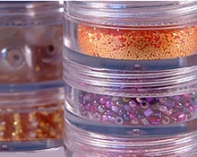 Clear Plastic Stacking Jars
