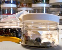 PET Clear Plastic Jars