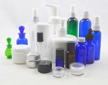 Spa and Salon Bottles and Jars for Essential Oils and Aromatherapy Applications